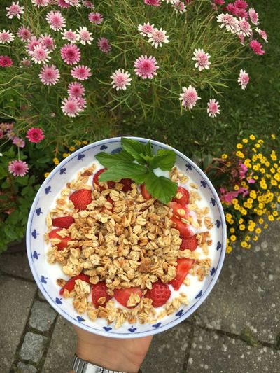 Summer🌞❤️ Breakfast Delicious ♡ Flowers