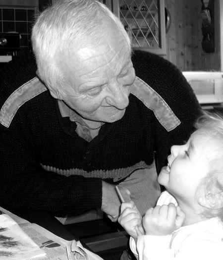 Capture The Moment Grandad Granddaughter