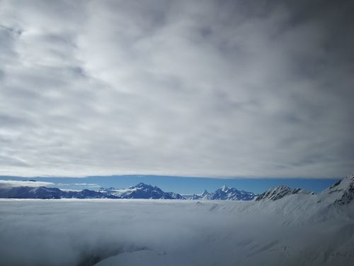 Matterhorn  Belalp Nebel Nebelmeer Wolken Cloud Clouds And Sky Alps Alpen Alpenpanorama EyeEmNewHere Mountain Snow Landscape Nature Outdoors Mountain Range Cold Temperature Cloud - Sky Winter Sky Beauty In Nature No People Tranquility First Eyeem Photo EyeEmNewHere
