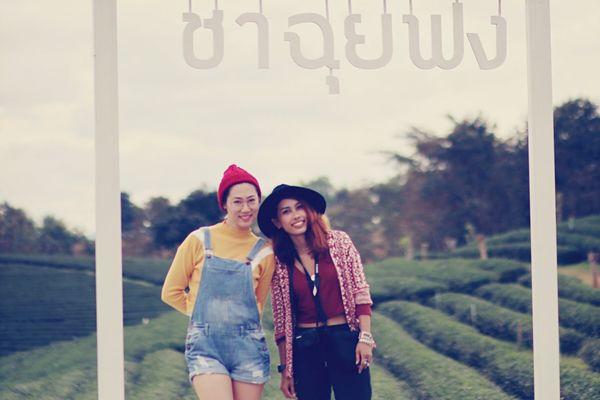 Singhapark Chiang Rai, Thailand Thailand Thai Thaigirl Portrait Vacations Happiness Standing Bohemian Bohol