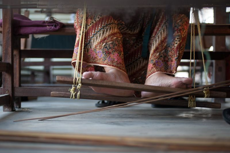 Working The Traveler - 2015 EyeEm Awards The Photojournalist - 2015 EyeEm Awards EyeEm Malaysia Weaving Art Of Songket