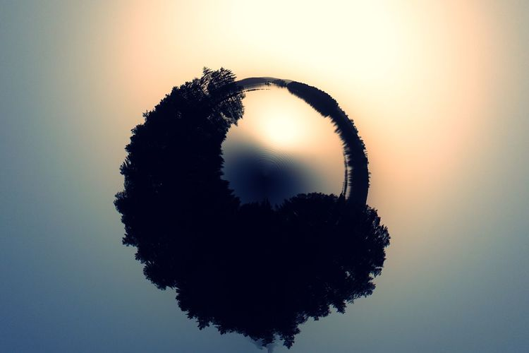 Silhouette Water Sunset No People Close-up Day Nature Sky Beauty In Nature World Planet Tinyplanet Nature Photography Lake