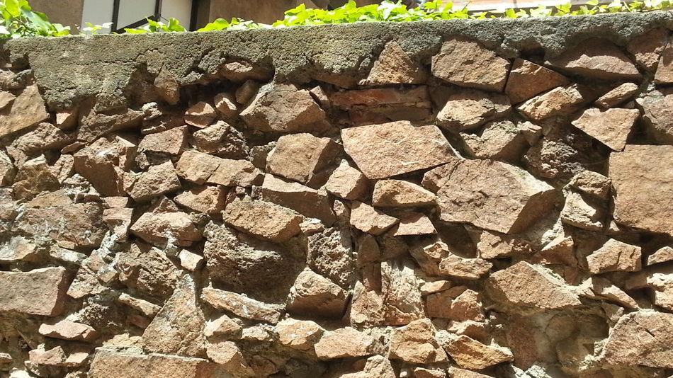 Muro de piedra en Sant Hilari de Sacalm