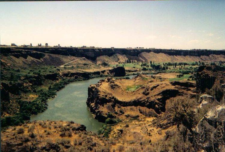 Snake River in