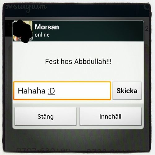 Hahaha, morsan har humor :) XFactorSE Abbdullah Humor TV4
