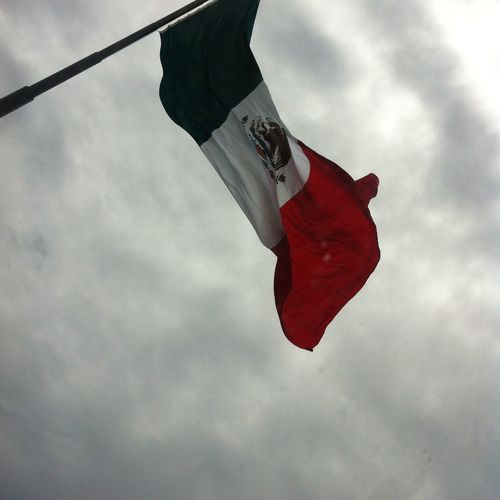 Bandera Bandera De Mexico Flag Tricolor Verde Blanco Rojo Green White Red