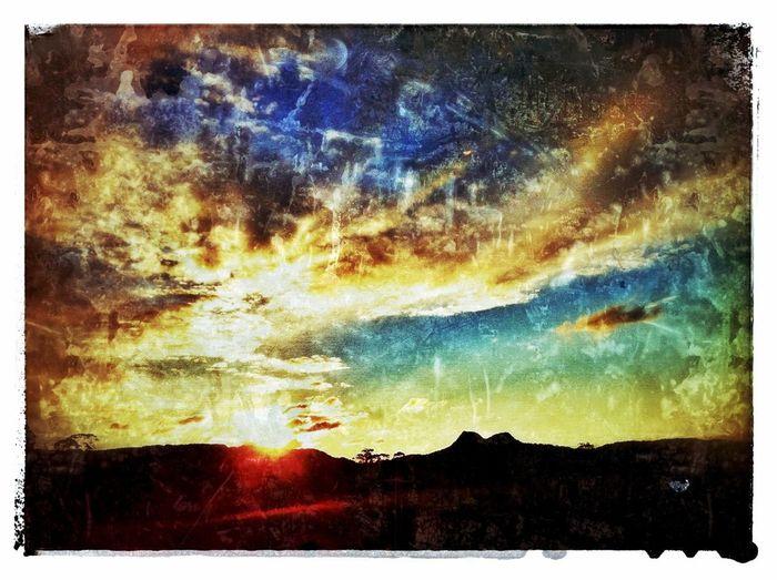 Sunset Over Eerwah