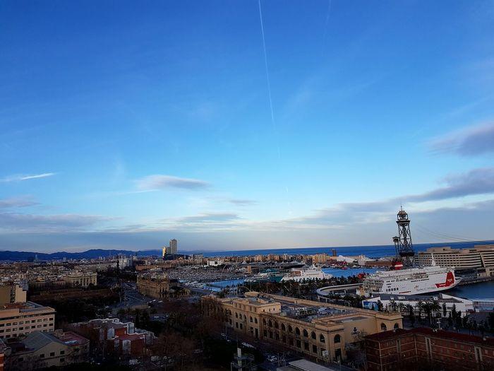 Horizon Over Water City Naturelovers