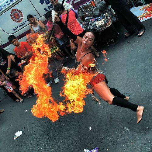 Gay Fire Dancer - Binondo Chinese New Year Popular Photos Photos Around You Manila Nikon