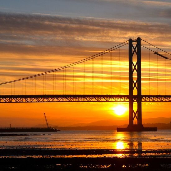 Nice sunset at Forth Road Bridge, taken on Nikon D7000, ISO 200, f11, 250th sec. ForthRoadBridge  DSLR Landscapes Sunset Nikond7000 Insta_sky_reflection Ig_shutterbugs Igbest_shotz Igsuper_shots Loves_Scotland Bnwscotland Insta_Scotland Scottishscenery Nature_wizards Princely_shotz Sky_sultans Ic_water Icu_britain Natures_best_shots Global_hotshotz