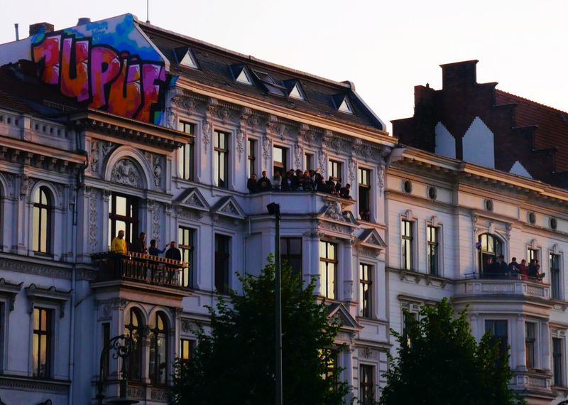 Capture Berlin Building Exterior Architecture Built Structure Travel Destinations Balcony Clear Sky Outdoors Sky Day