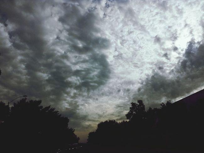 Cloudy Skies Calm Before The Storm Dark Skies Gloomymood