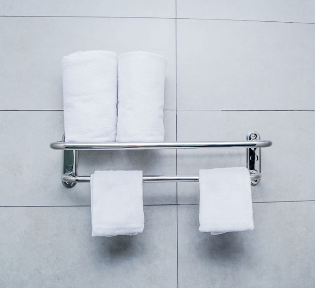Bathroom Close-up Day Domestic Bathroom Hygiene Indoors  No People Tile Toilet Paper White Color