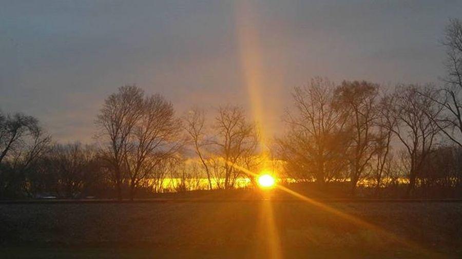 Sun coming up this morning🌟😊 Noediting Lovethesunrising