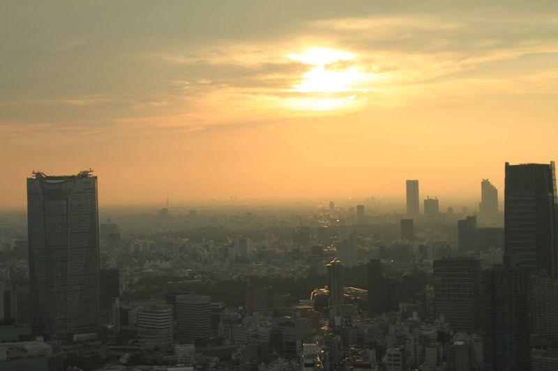 東京タワーからの眺め ViewfromTokyoTower Roppongihills Tokyomidtown Wideview Tokyo