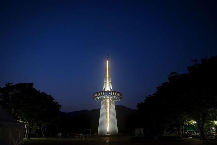 Open Edit Hanbit Tower Daejeon, Korea Clear Sky