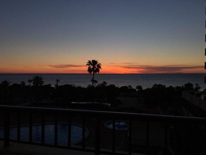 Torrevieja SPAIN Sunshine Palms Views From The Balcony Hotel Room Swimingpool