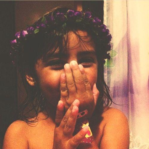 Cute Lindinha Moments Coroadeflores Crianças
