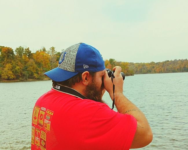 This is me at Caesar Creek State Park working. Tereff Photography Caesar Creek State Park Caesar Creek Lake Ohio State Park Lakeshore Lake Trees Nature Photography JeffRitter