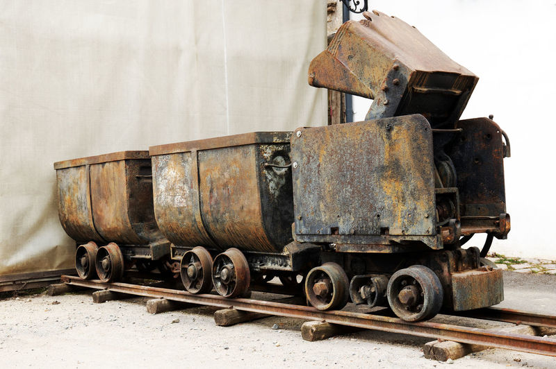 Rusty Old Mine Train