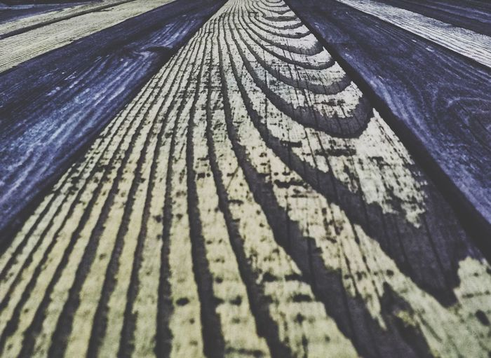 Close-up Textured  Full Frame Surface Level Repetition The Way Forward Weathered Outdoors Diminishing Perspective Nature Boardwalk Day No People Tranquility Long