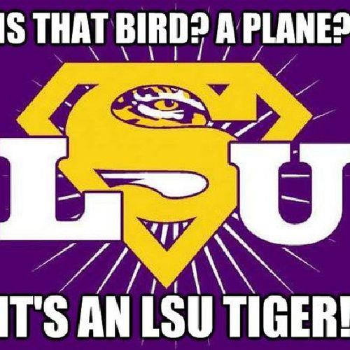 Fucking right LSU GeauxTigers Tigerpride  Purple &Gold