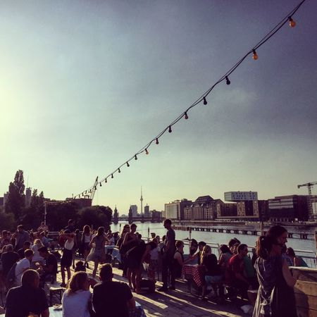If you never watched the sun set on the upper deck of this boat/club you simply must. Come to Bite Club tonight and say hello if you see us! Berlin Sunset Summer Nights Street Food