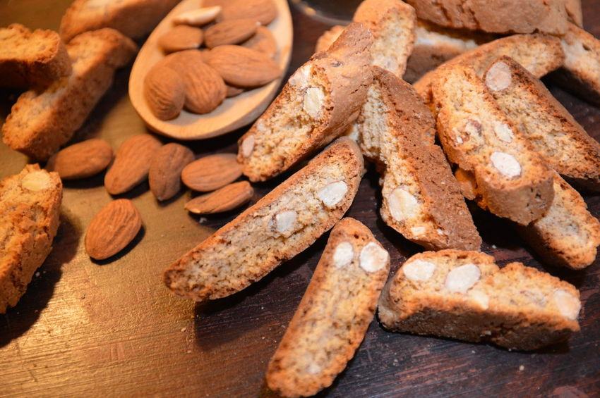 cantuccini italian cookies with nuts Food Food And Drink Baked Healthy Eating Freshness Cookie Sweet Food Ready-to-eat No People Snack Bakery Close-up