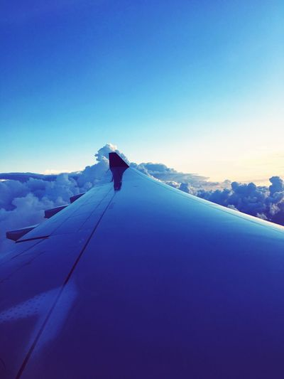 Winter Nature Clear Sky Cold Temperature One Person Full Length Snow Real People Copy Space Tranquil Scene Scenics Airplane Airplane Wings Day Blue Tranquility Outdoors Landscape Leisure Activity Mountain Sky