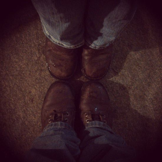 These boots are made for walkin.. Boots Walkin Oldtime Pair Jeans Countrylife LovinLife