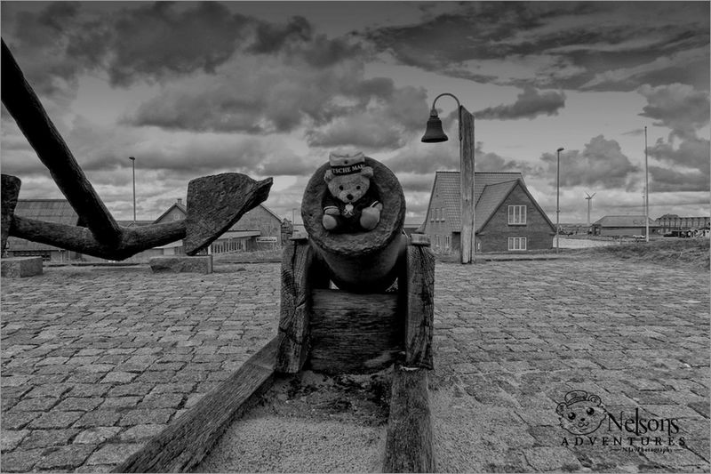 2012: Nelson in an old canon from the ship of line HMS St. George. Black And White NelsonsAdventures Landscape Denmark