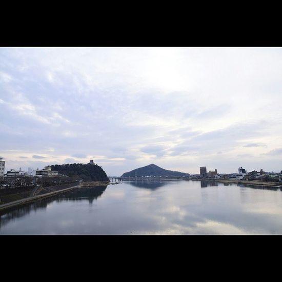 犬山市 犬山城 風景 木曽川