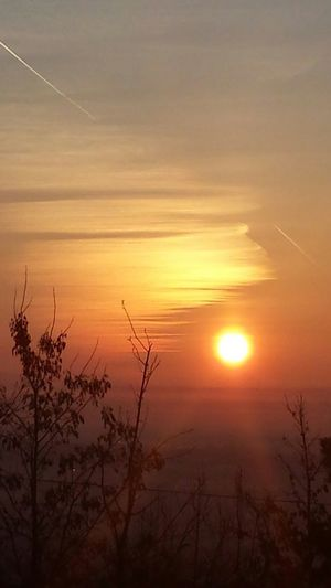 Sun path in Brod na Savi. Good Morning!