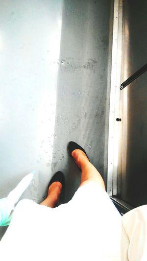 Rainy Days Yamanote Line Japan Myfoot Ootd Skirt Whight