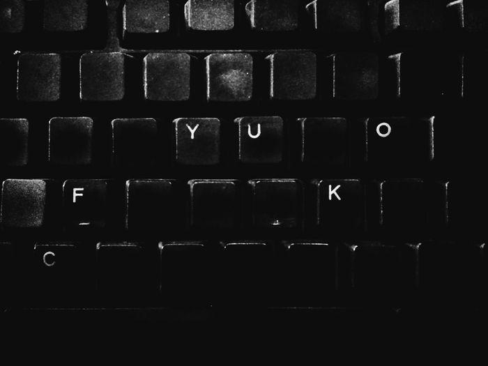 can you type it Words Swearing My Keyboard FuckYou