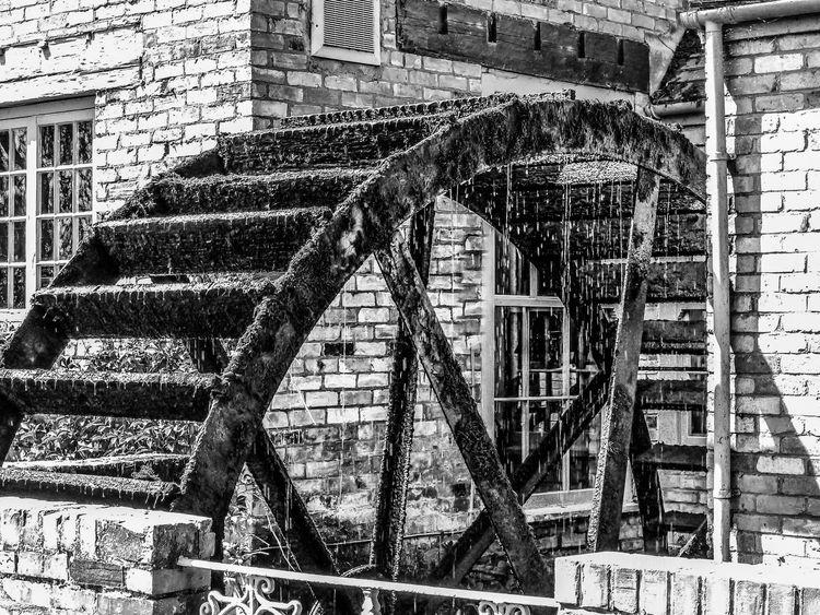 Shades Of Grey Waterwheel Millwheel EyeEm Best Shots EyeEm Best Edits EyeEmBlackAndWhite Monochrome EyeEm Best Shots - Architecture