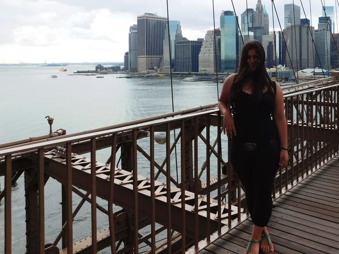 Brooklyn Bridge / New York NYC New York TheCity Happy Smile Hello World The Other Side Enjoying Life