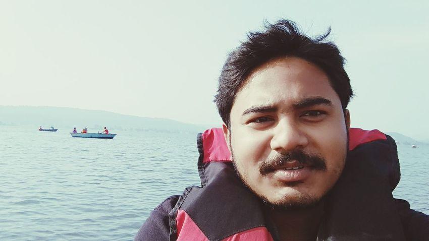 EyeEm Selects Water Portrait Nautical Vessel Sea Headshot Beauty Red Human Face Sky Close-up