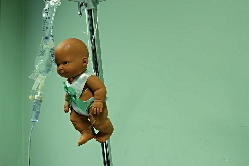 Baby Birth Toyart Medical Taking Photos Hello World Baby Face Horror Portrait Horrorclub