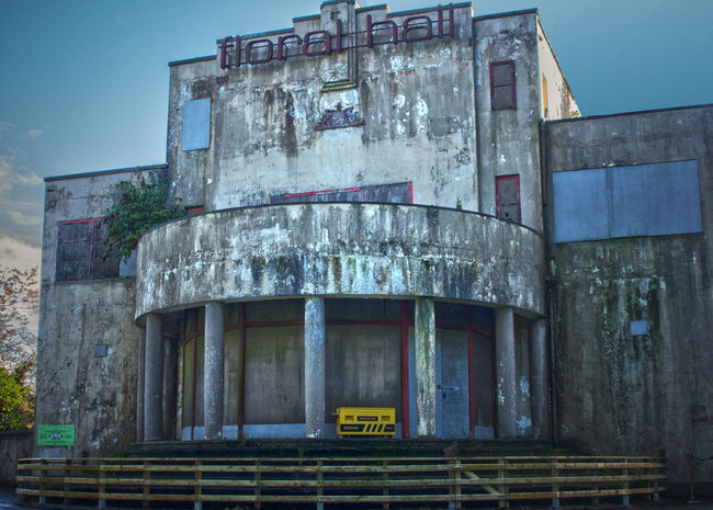 Abandoned Architecture Blue Building Exterior Built Structure Damaged Dance Ghost Ghostbusters Halloween Haunted HDR Ireland Low Angle View Obsolete Old Old Buildings Run-down Rundown Sexygirl Sky Steps Weather Weathered Window