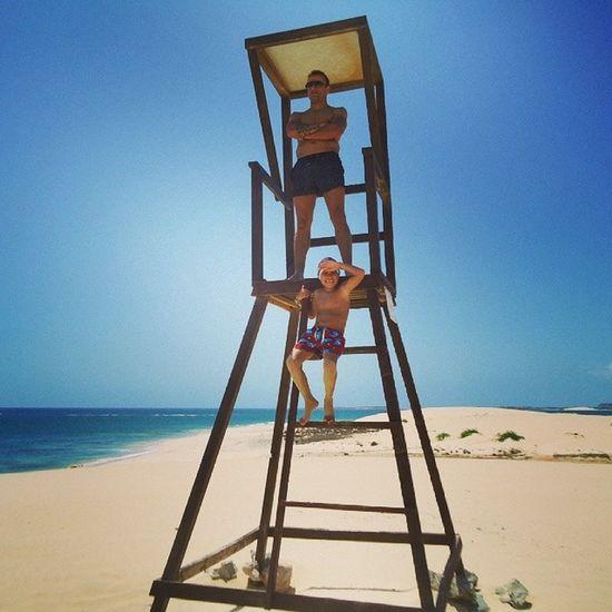 Cabo Verde Baywatch :D Férias Family Love Caboverde
