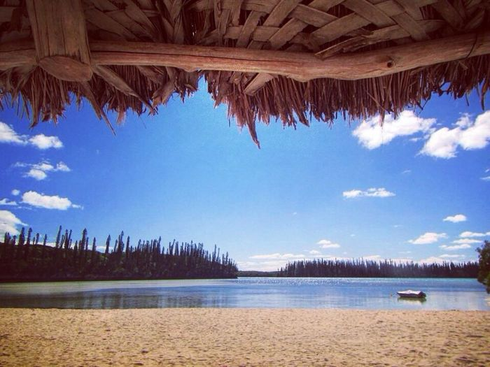 Ile Des Pins New Caledonia Water Nature Sky Beauty In Nature Scenics Beach