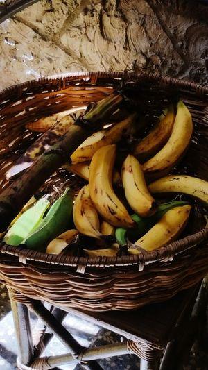 Yellow Plantain Green Plantain Healthy Eating Food Canasta De Plátanos