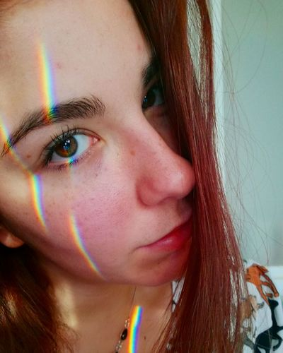 Human Face Looking At Camera Beauty Women Young Adult Multi Colored Human Eye Eyebrow Reinbow Nature Love Picoftheday Followforfollow Lileforlike Tagsforlikes Tags Long Hair Sexygirl