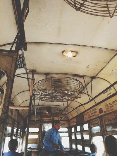 Riding on a tram Tramway Tram Kolkatadiaries KolkataStreets