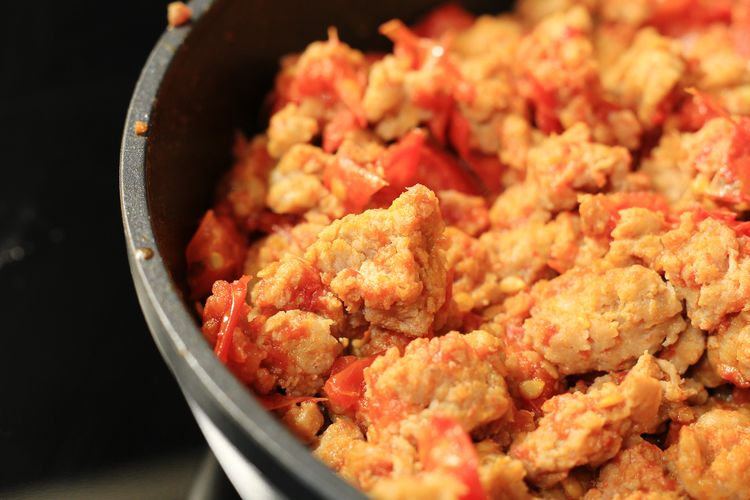Minced Meat Tomato Food EyeEm Selects Skillet- Cooking Pan Minced Meat Fried Cooked Close-up Food And Drink
