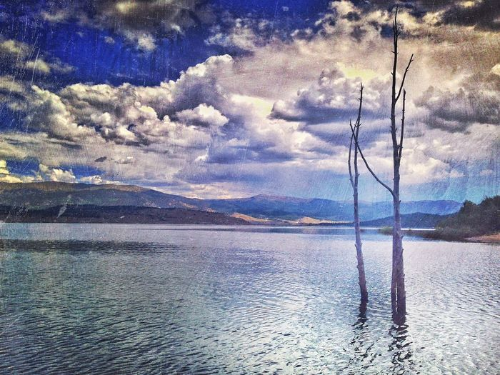 A Lake Reflection in Leadville Colorado Showcase: November