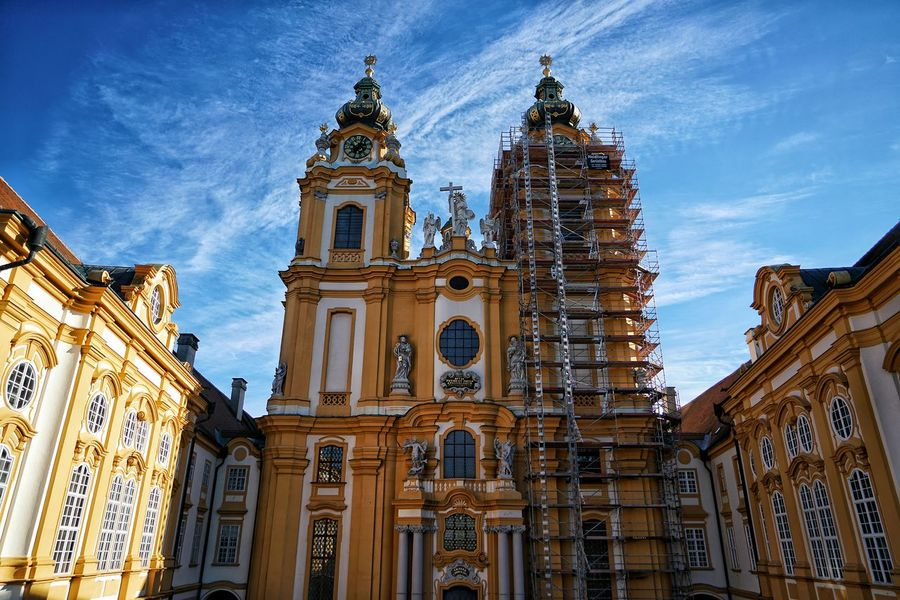 Austria Photos Melk Stift Abbey Catholic Church Hanging Out Taking Photos A Point Of View Architecture Historic Site Light And Shadow Streamzoofamily The Architect - 2017 EyeEm Awards