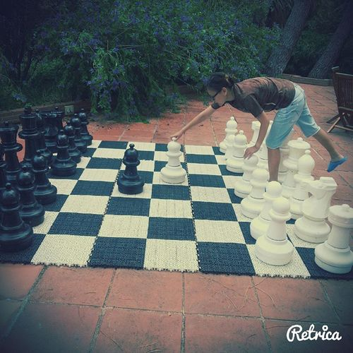 Большие шахматы после Aquatonic Salou SPAIN лето2014