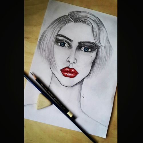 Check This Out My Painting Mymade Girl Paint Colors